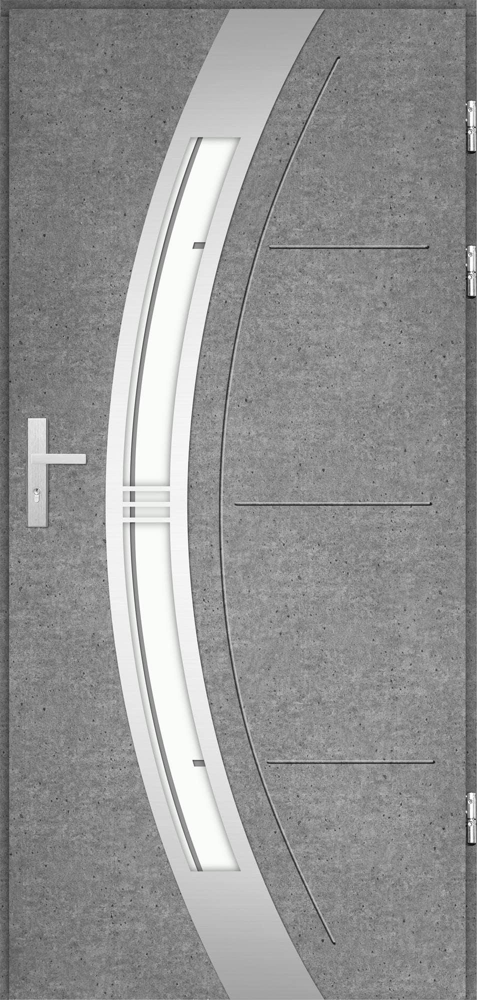 Venkovní vchodové dveøe Andrea, beton