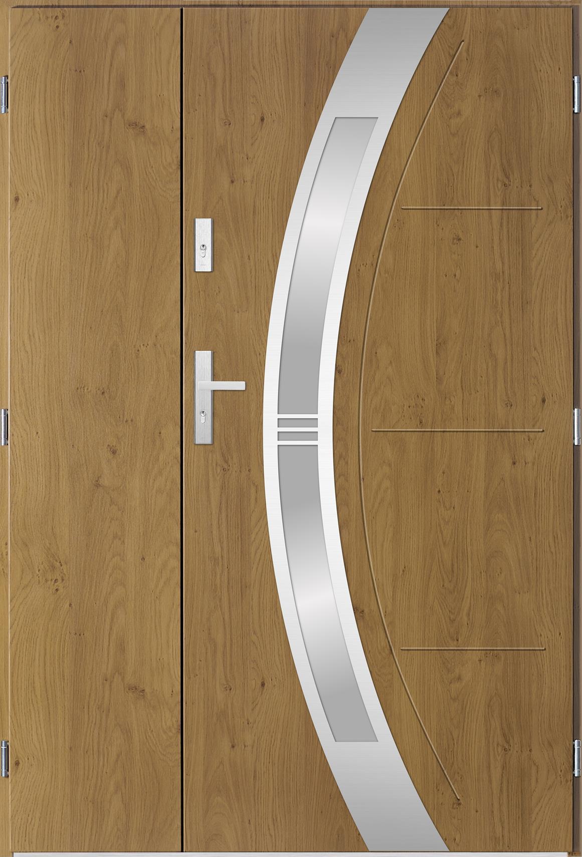 Dvoukøídlé ocelové vchodové dveøe Andrea, winchester