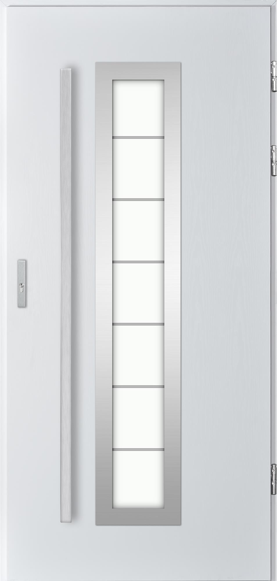 Venkovní vchodové dveøe Tanya, bílá