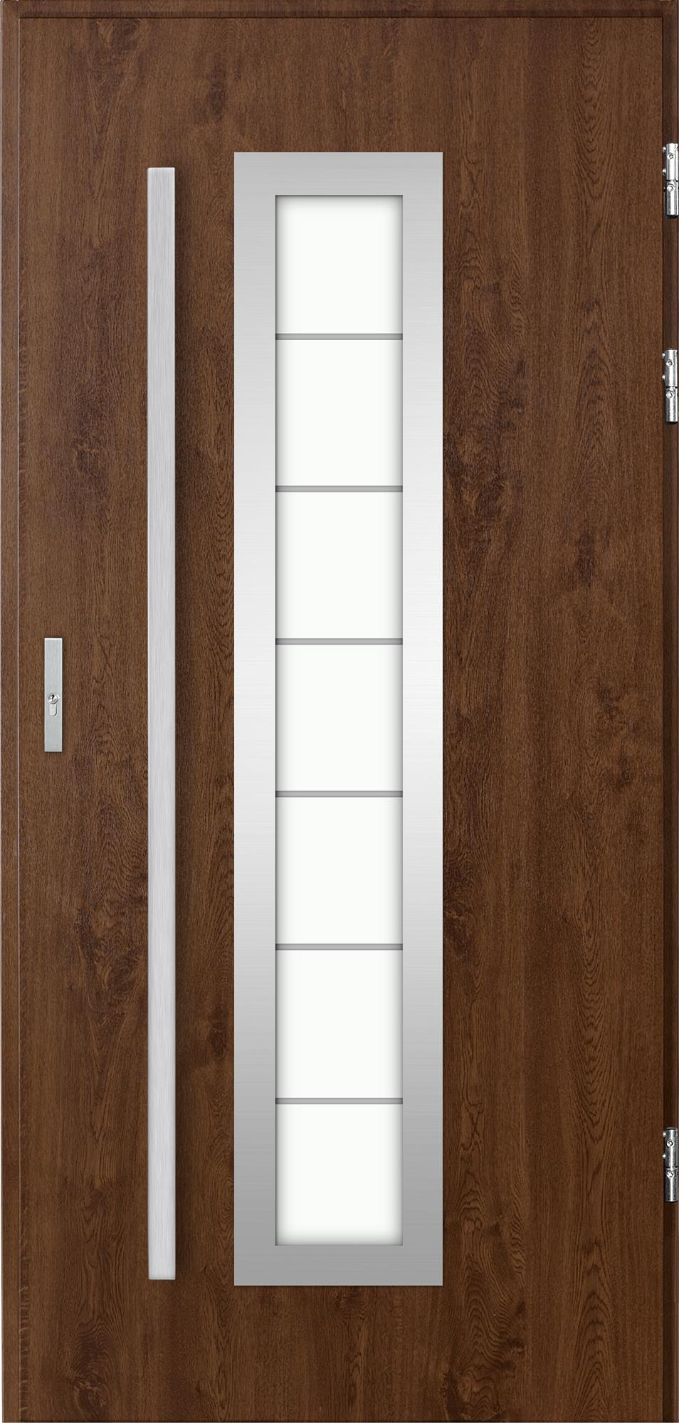 Venkovní vchodové dveøe Hevelio, oøech