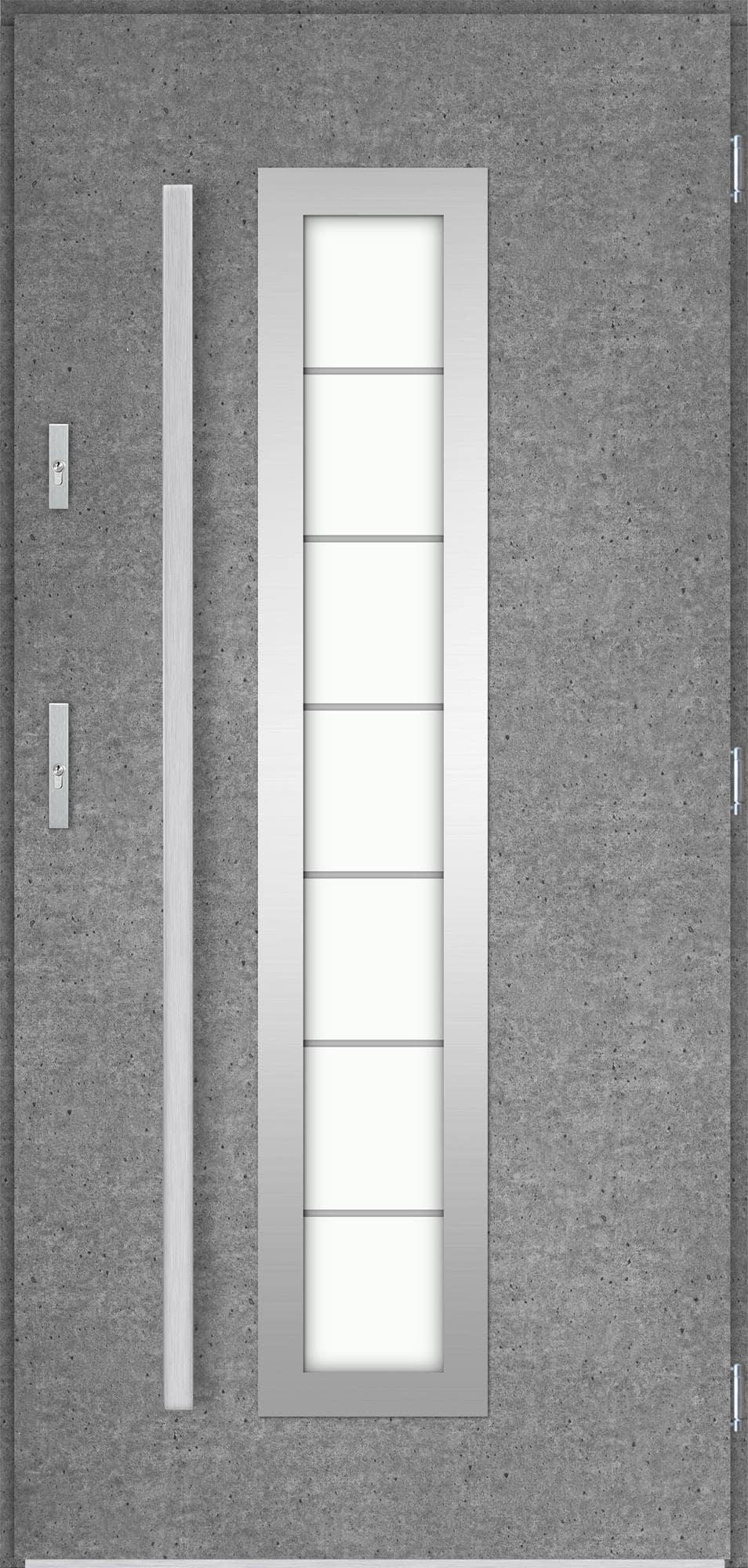 Venkovní vchodové dveøe Hevelio, beton