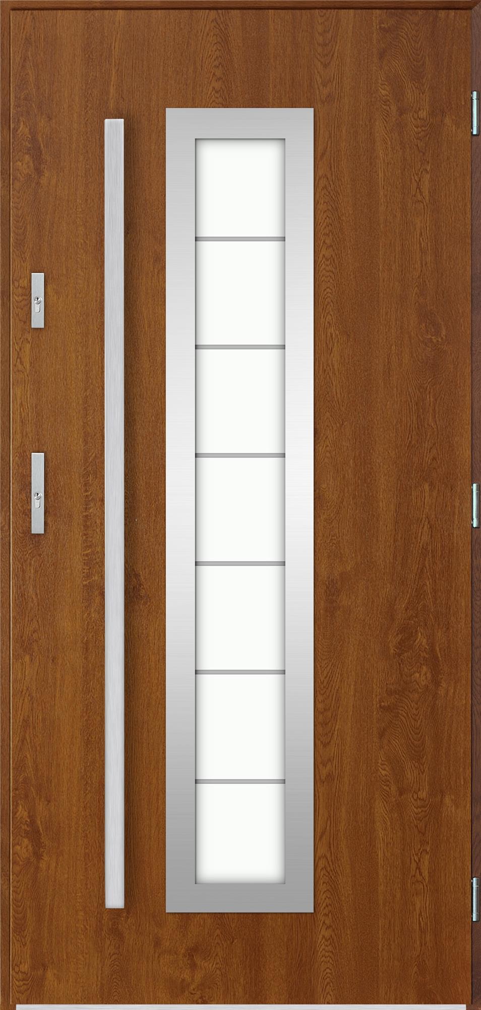 Venkovní vchodové dveøe Hevelio, dub zlatý