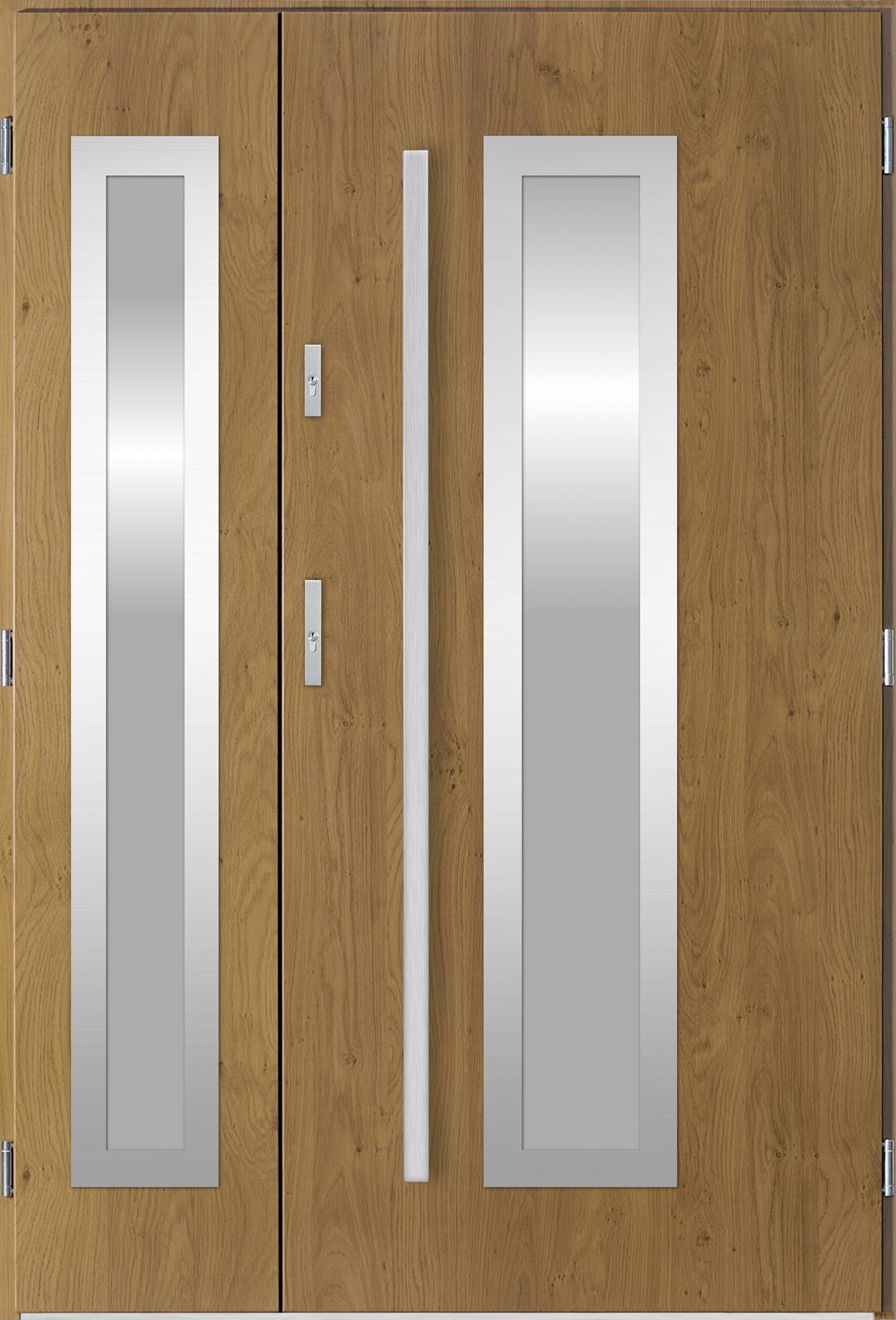 Dvoukøídlé ocelové vchodové dveøe Hevelio, winchester
