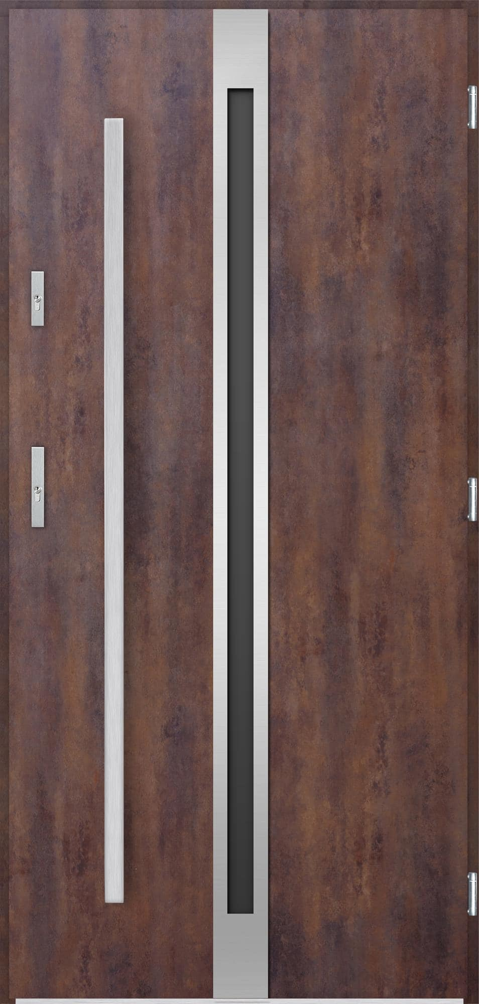 Venkovní vchodové dveøe Linea, rez