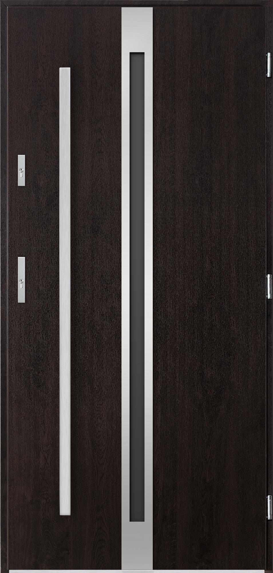 Venkovní vchodové dveøe Linea, wenge