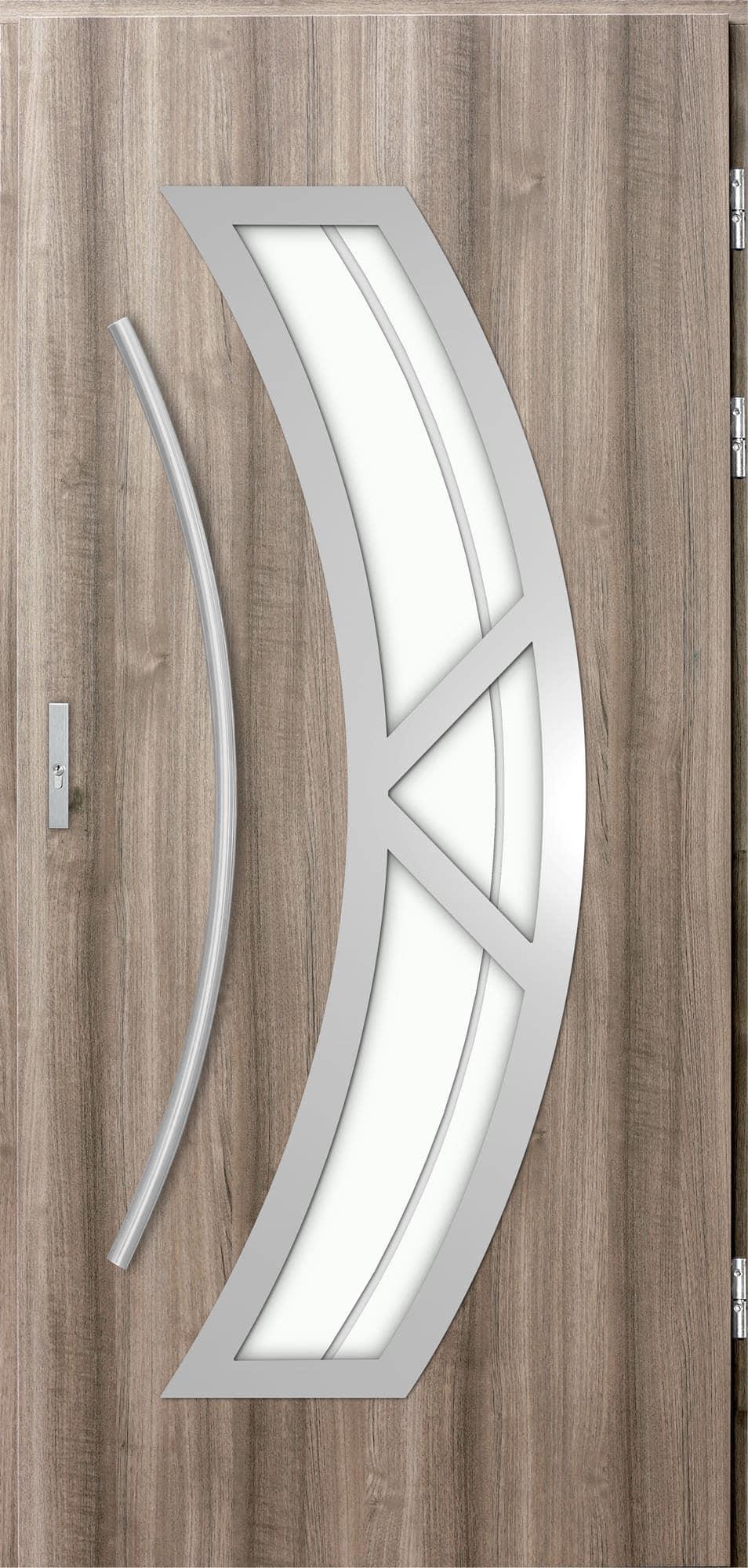 Venkovní vchodové dveøe Olivia, svìtlý dub