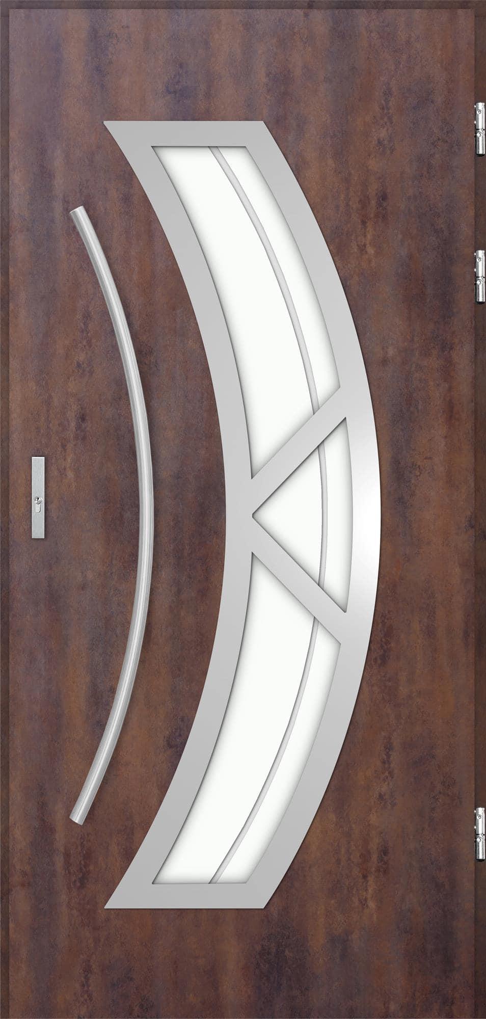 Venkovní vchodové dveøe Olivia, rez