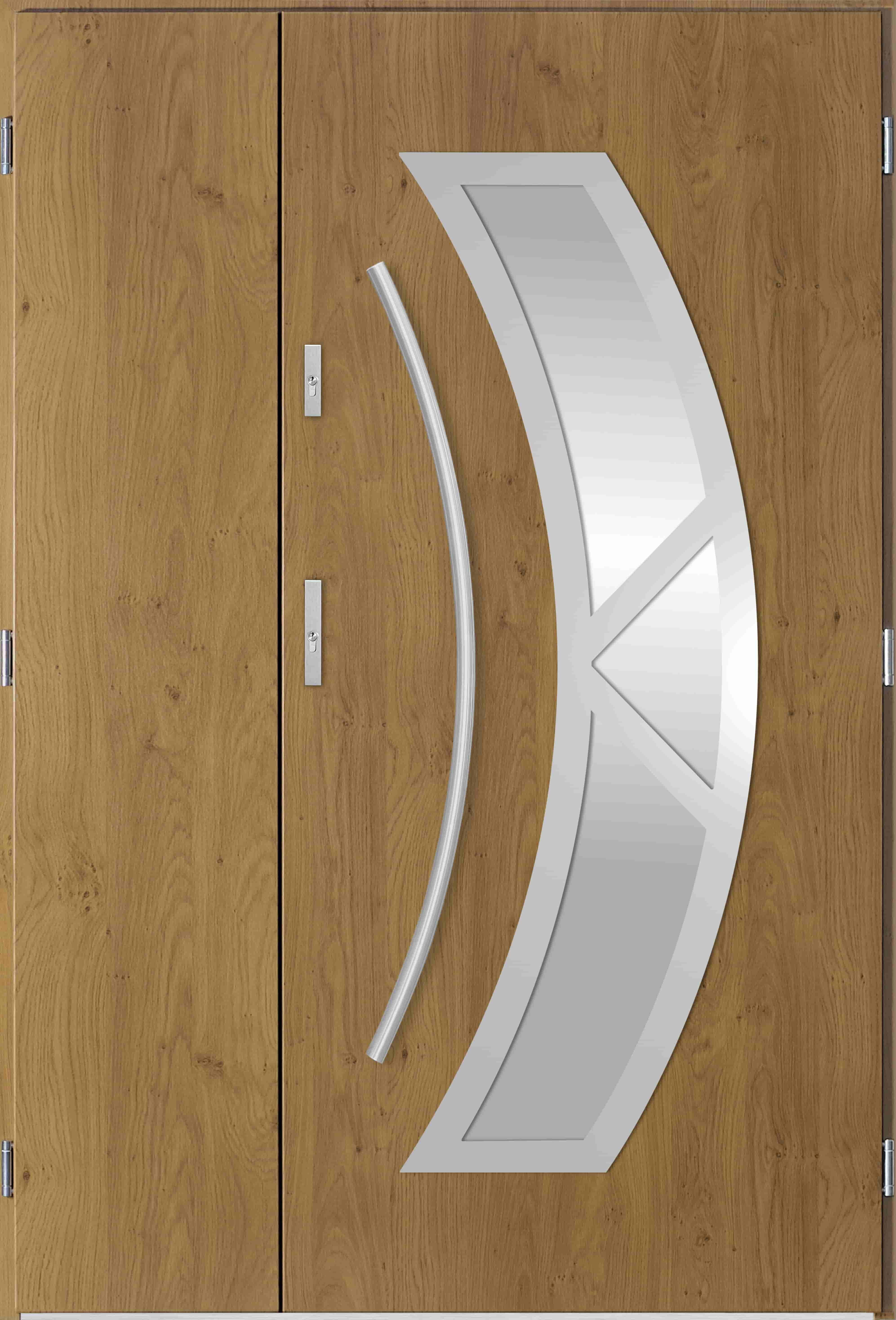 Dvoukøídlé ocelové vchodové dveøe Olivia, winchester