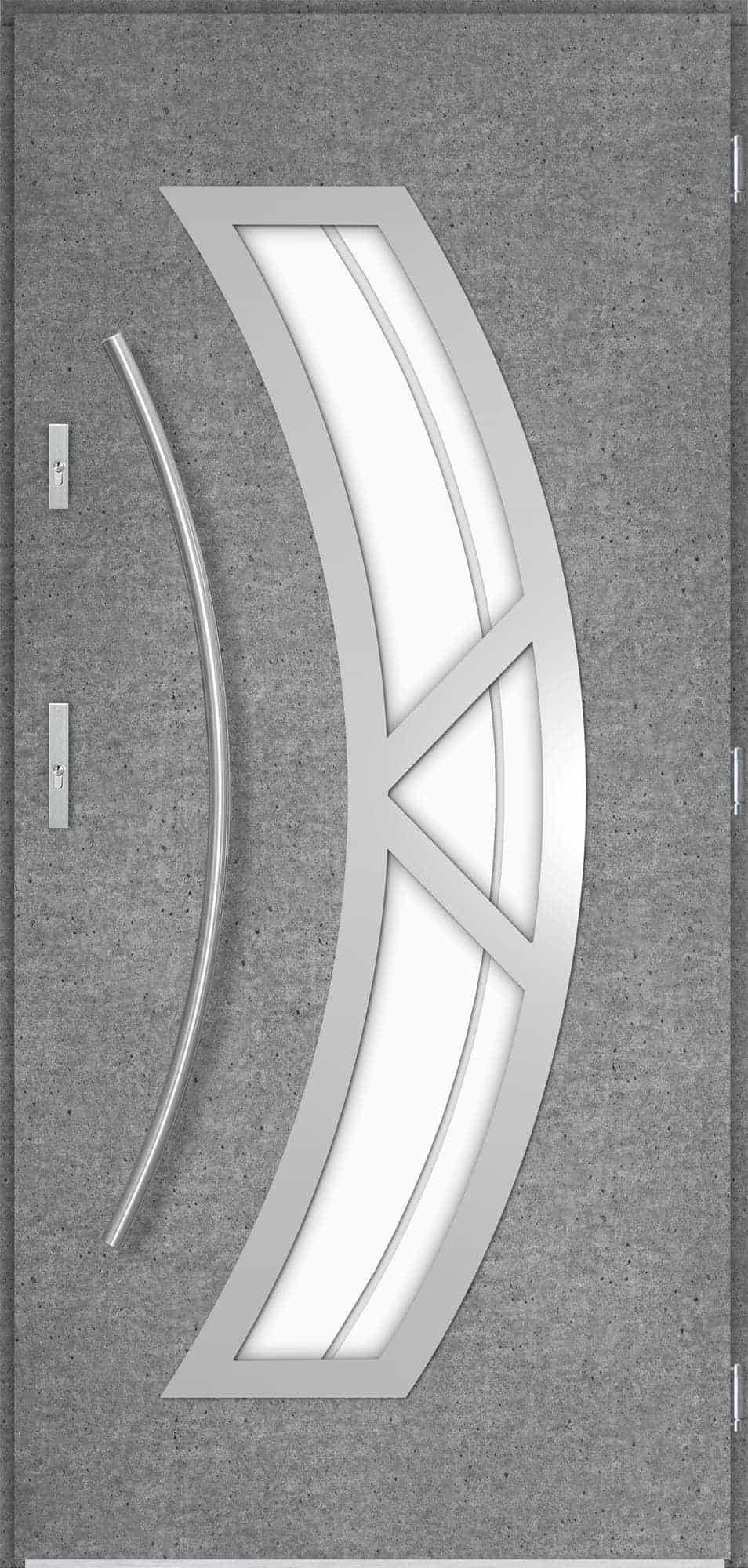Venkovní vchodové dveøe Olivia, beton