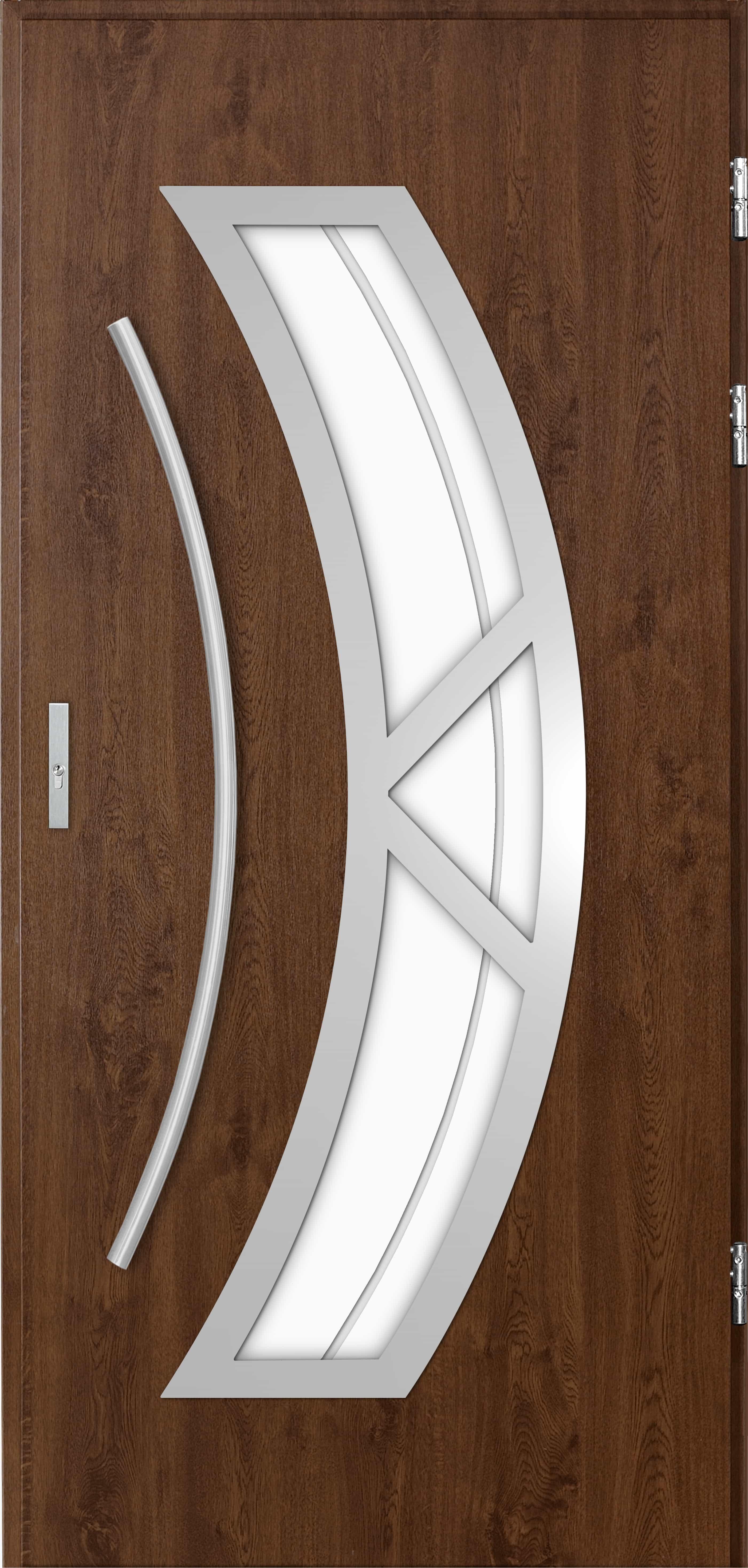 Venkovní vchodové dveøe Olivia v odstínu oøech