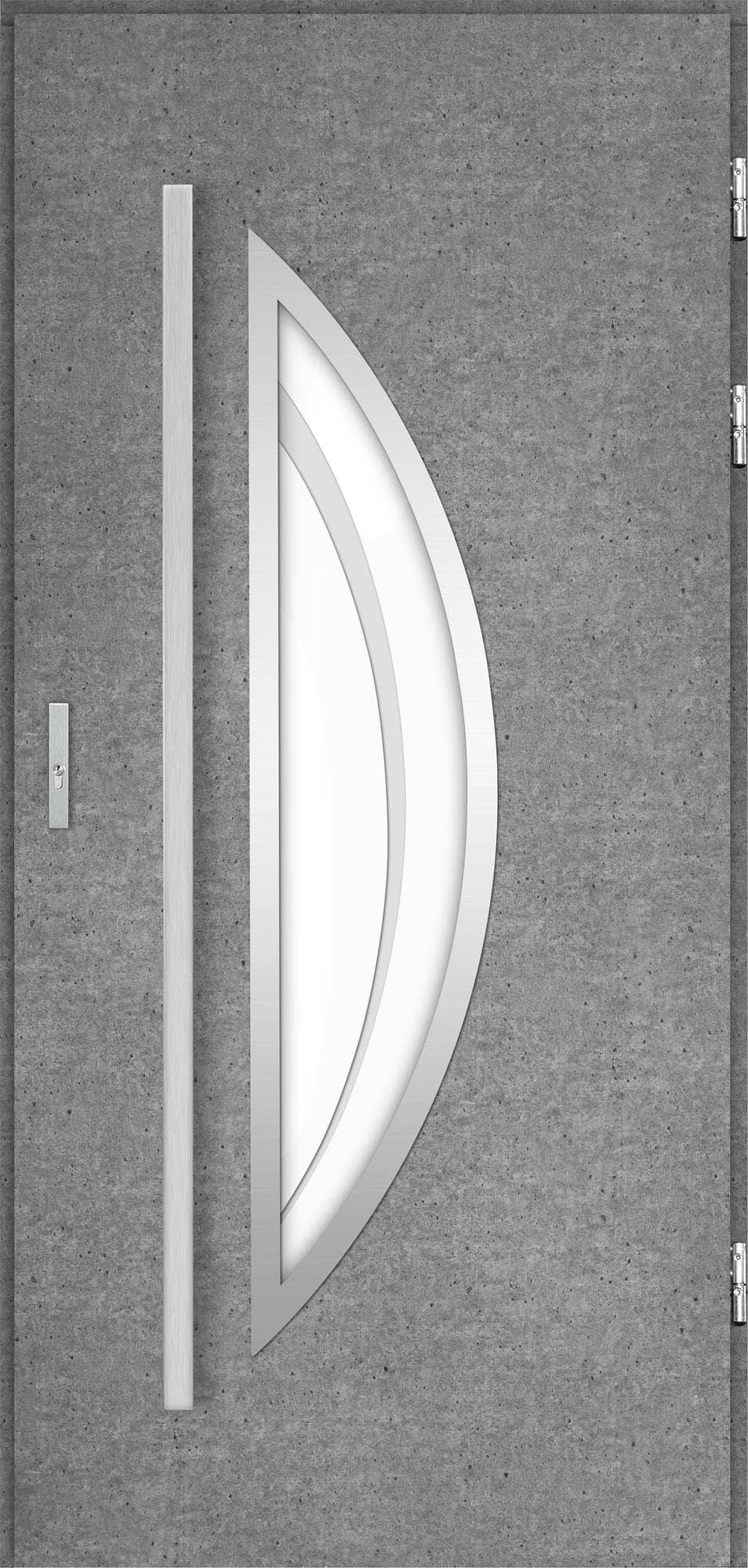Venkovní vchodové dveøe Polea, beton