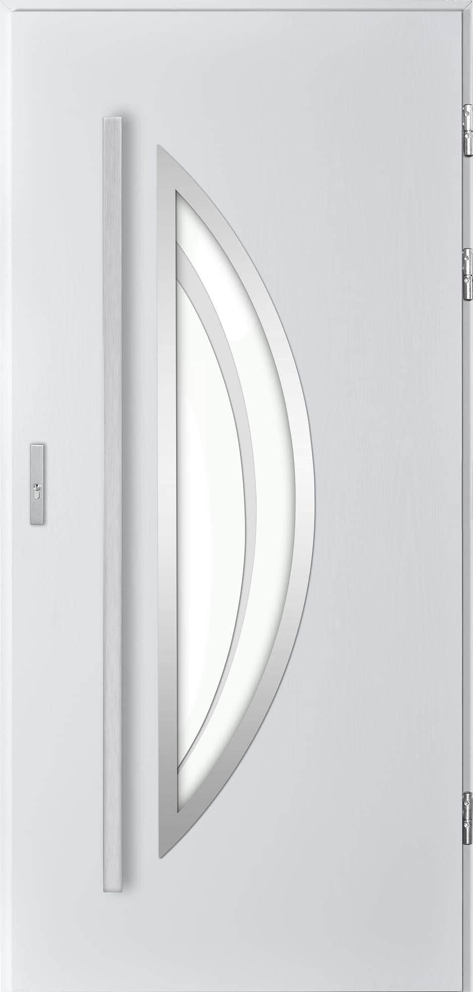 Venkovní vchodové dveøe Polea, bílá