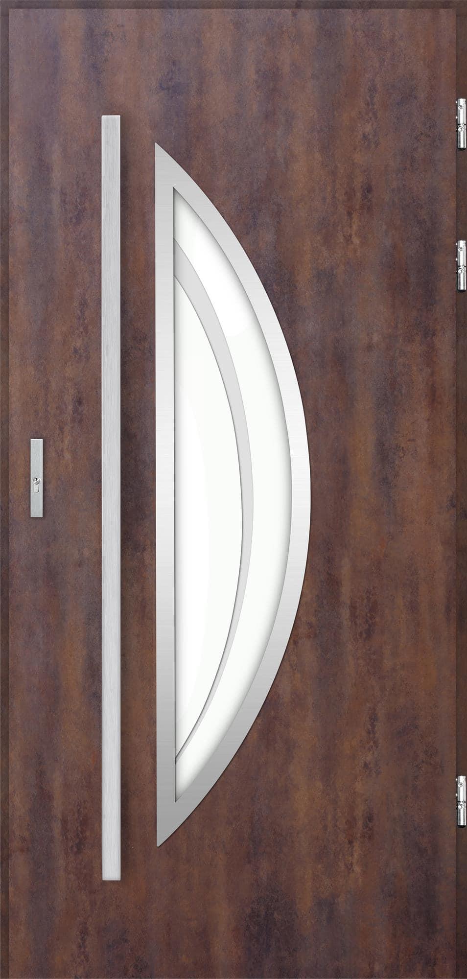 Venkovní vchodové dveøe Polea, rez