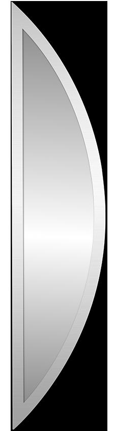 Zrcadlové sklo pro vchodové dveøe Polea