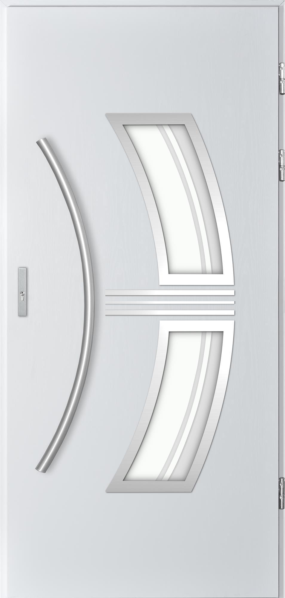 Venkovní vchodové dveøe Stella, bílá