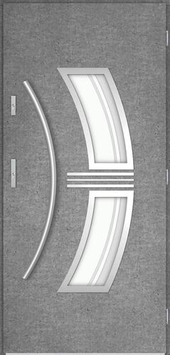 Venkovní vchodové dveøe Sirius, beton