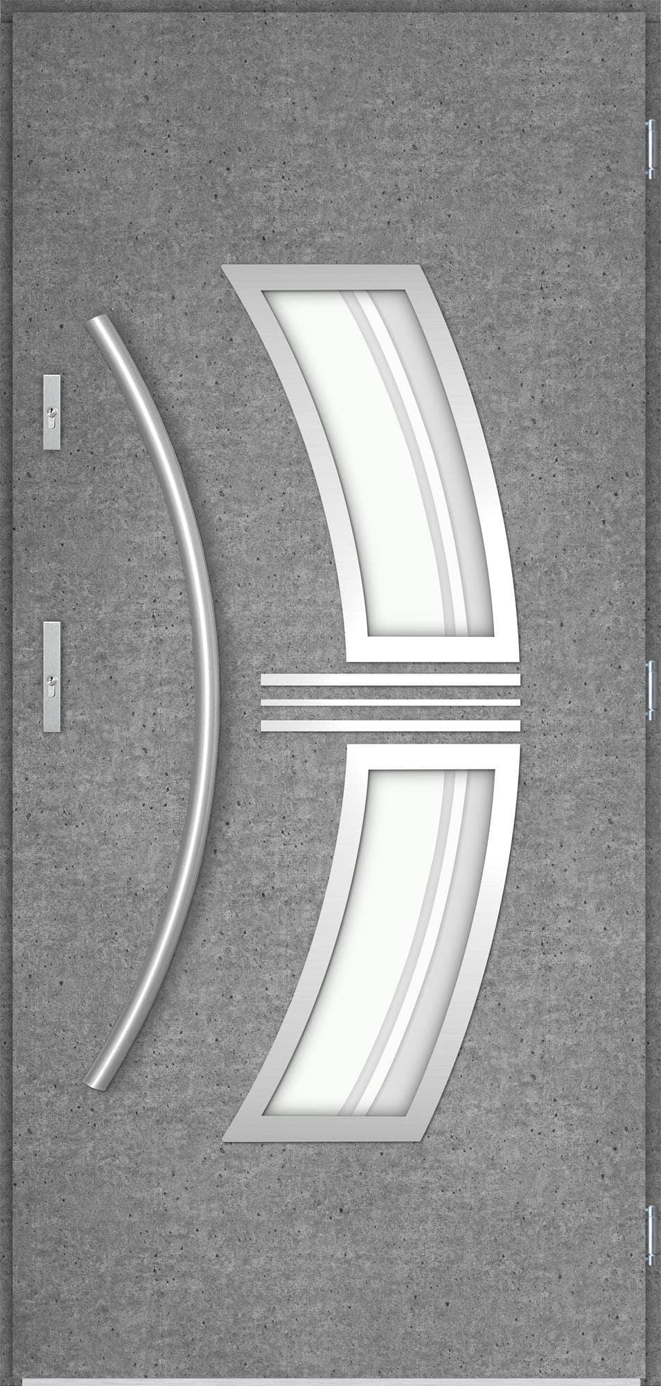 Venkovní vchodové dveøe Stella, beton