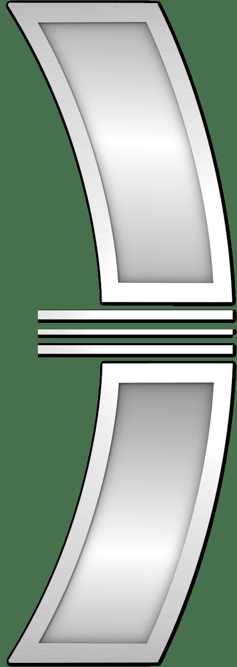 Zrcadlové sklo pro vchodové dveøe Sirius