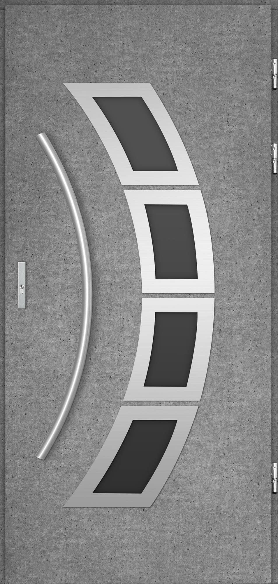 Venkovní vchodové dveøe Tanya, beton