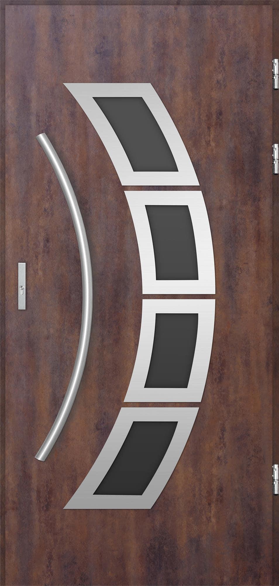 Venkovní vchodové dveøe Tanya, rez