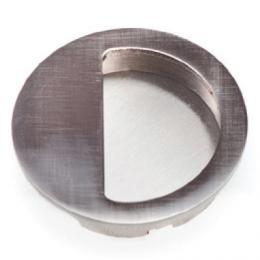 Mušle kulatá støíbrná 57 mm