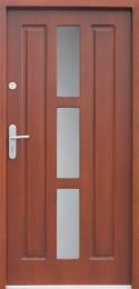 Venkovní vchodové dveøe P13 - zvìtšit obrázek