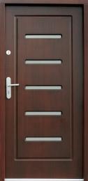 Venkovní vchodové dveøe P25 - zvìtšit obrázek