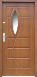 Venkovní vchodové dveøe P30 - zvìtšit obrázek