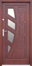 Venkovní vchodové dveøe P37 - zvìtšit obrázek