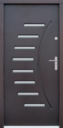 Venkovní vchodové dveøe P40 - zvìtšit obrázek