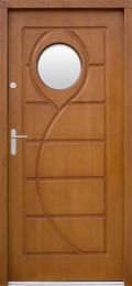Venkovní vchodové dveøe P51 - zvìtšit obrázek