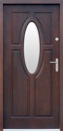 Venkovní vchodové dveøe P52