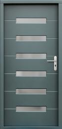 Venkovní vchodové dveøe P55 - zvìtšit obrázek