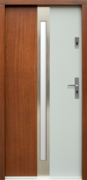 Venkovní vchodové dveøe P57 - zvìtšit obrázek