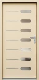 Venkovní vchodové dveøe P64 - zvìtšit obrázek