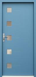Venkovní vchodové dveøe P71
