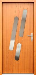 Venkovní vchodové dveøe P76 - zvìtšit obrázek