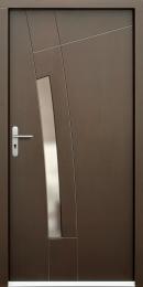 Venkovní vchodové dveøe P77