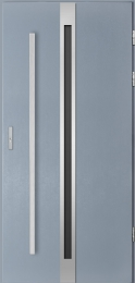 Venkovní vchodové dveøe Linea, Comfort 73 - zvìtšit obrázek