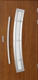 Venkovní vchodové dveøe Apellon, Comfort 73 - zvìtšit obrázek