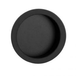 Mušle kulatá èerná mátna 57 mm - zvìtšit obrázek