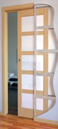 Posuvný systém do pouzdra pro interiérové dveøe