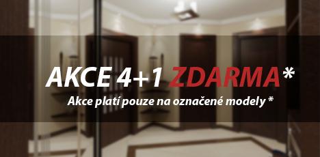 Akce 4+1 Zdarma